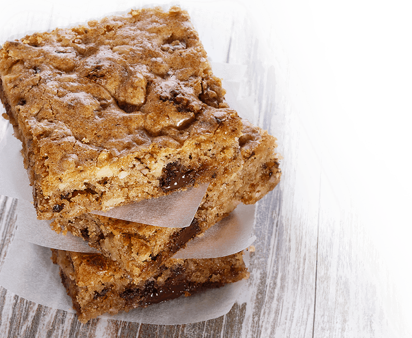KAFFEE-BLONDIES